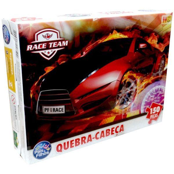 Quebra-Cabeça Premium Race 150 Peças - Pais E Filhos