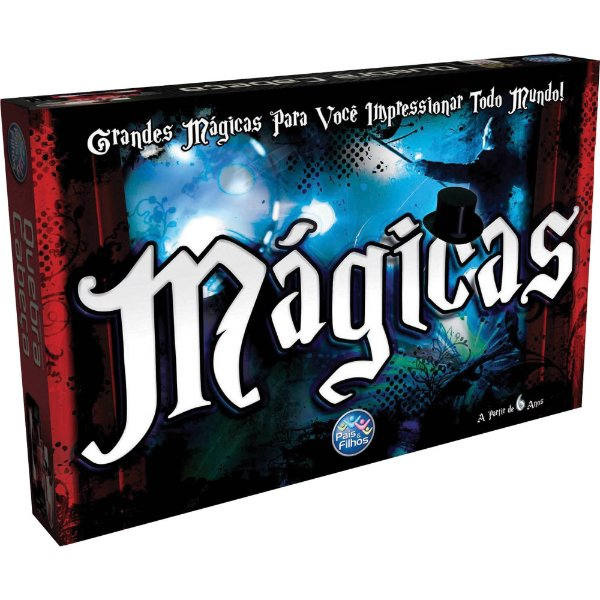 Jogo Diverso Mágicas - Pais E Filhos