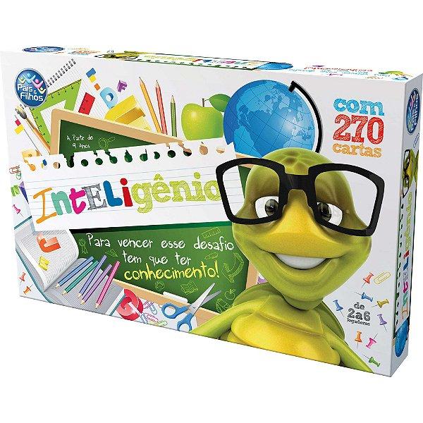 Jogo Inteligênio Brinquedo Educativo - Pais E Filhos