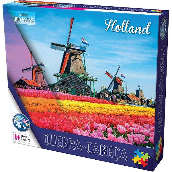 Quebra-Cabeça Holland 300 Peças - Pais E Filhos