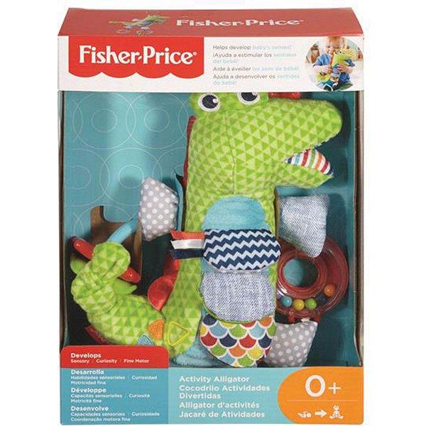 Animais Fofinhos Crocodilo De Atividades Fisher-Price