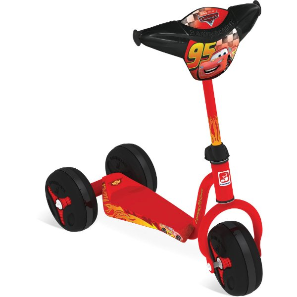 Patinete Cars Disney - Bandeirante