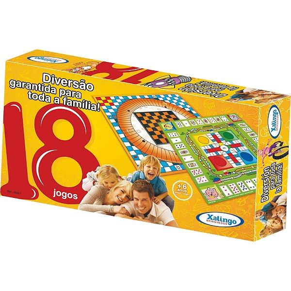 Jogo Com 18 Jogos - Xalingo