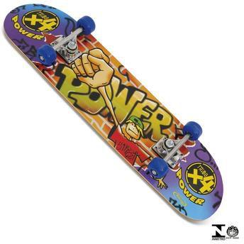 Skate Power Com Lixa - Xalingo