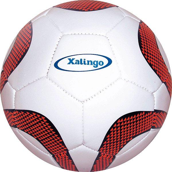 Bola De Futebol De Campo Soccer Ball Branca/Laranja Xalingo