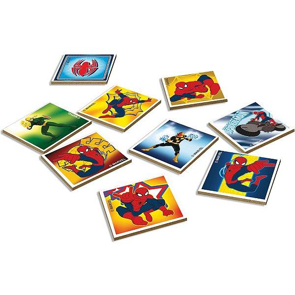 Jogo da Memória Spider Man 24 Peças - Xalingo