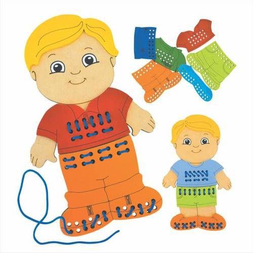 Alinhavo Menino - NewArt Brinquedos