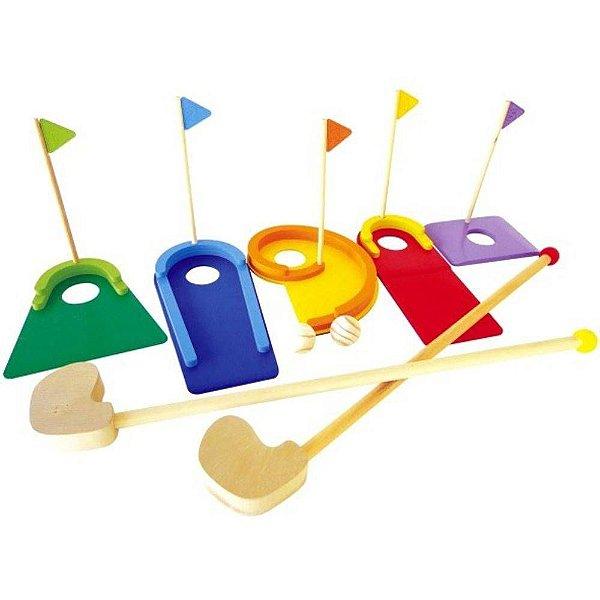 1bc4c574e0 Mini Golf De Madeira Colorido New Art - RevivaviveR Brinquedos ...
