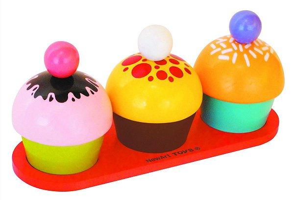 Coleção Comidinhas Kit Cupcake NewArt Toys Ref.372