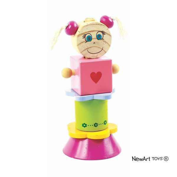 Blocos Para Montar Nina - NewArt Toys