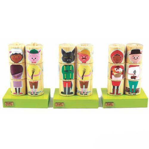 Cilindros Para Montar - Personagens - NewArt Toys