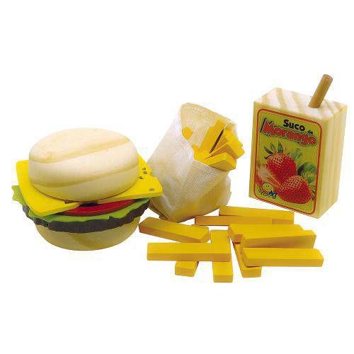 Coleção Comidinhas Kit Sanduíche - NewArt Toy`s