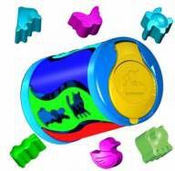 Brinquedo Educativo Passa Figuras Dinâmico - Carimbrás