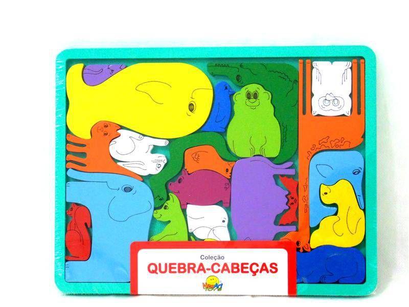 Quebra-Cabeça Bicharada - NewArt  Do Brasil
