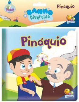 AMIGUINHOS LIVRO DE BANHO: PINÓQUIO