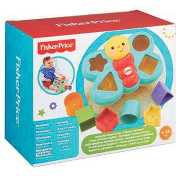 Brinquedo De Encaixar Borboleta Fisher-Price