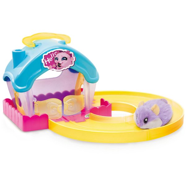 Casinha De Boneca Hamster Casa Com Pista - Candide