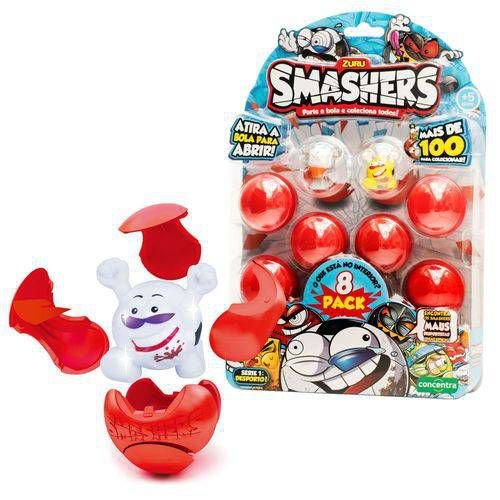 Bonecos Smasher 8 Surpresas - Candide