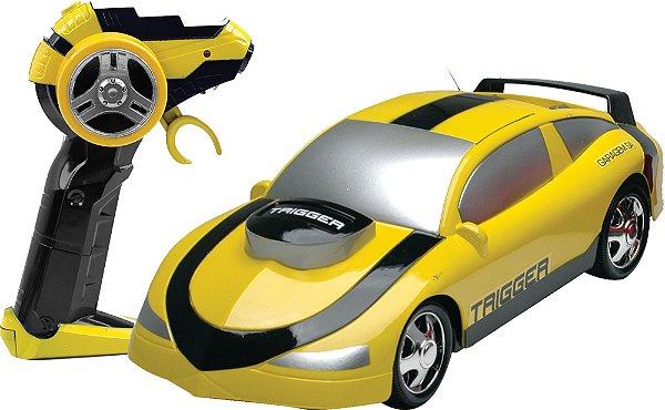 Carro De Controle Remoto Trigger Garagem Sortido Candide