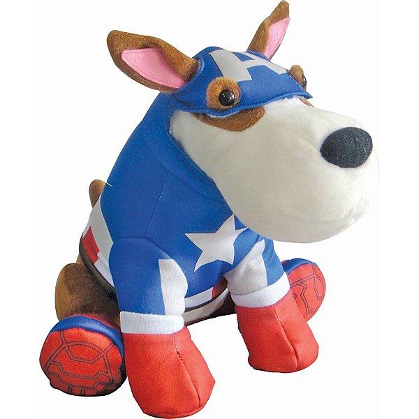 Cão Spock De Pelúcia Os Vingadores Capitão América - Candide