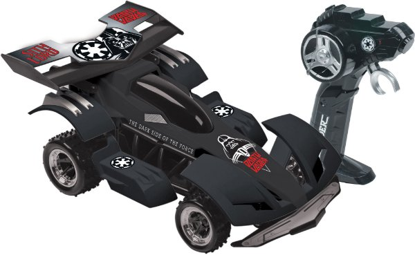 Carro Controle Remoto Star Wars Dark Side Racer Candide
