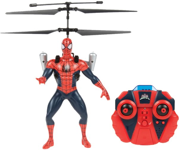 Helicoptero Spider-Man Copter Hero - Radio Controle Candide