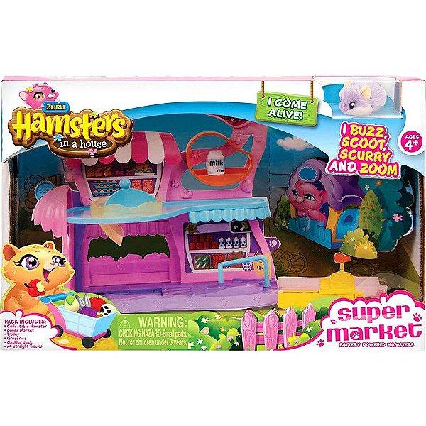 Hamster Mercado C/Acessorios Candide