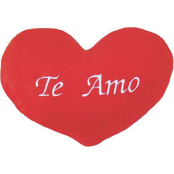 Almofada Pelúcia Coração Te Amo Tam M. Soft Toys