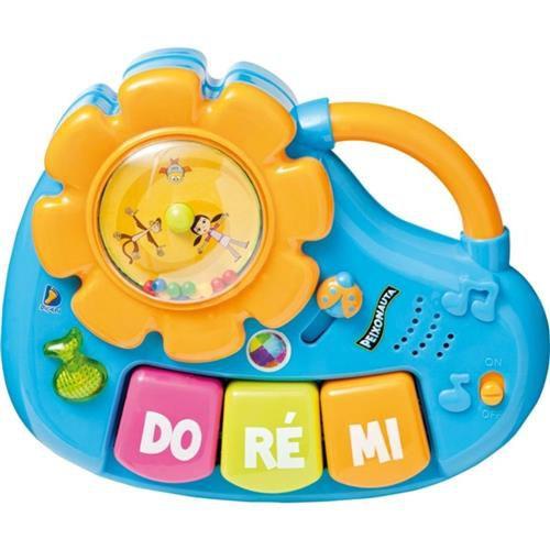 Meu Pequeno Músico Bateria Peixonauta Musical - Dican