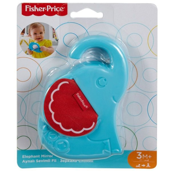 Chocalho - Animais Divertidos - Elefante - Fisher-Price