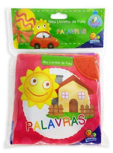 MEU LIVRINHO DE PANO : PALAVRAS