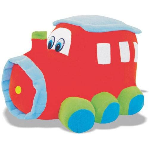 Trenzinho De Pelúcia 25cm. Soft Toys