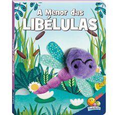 Livros Infantis - Dedinhos Agitados: Menor das Libélulas