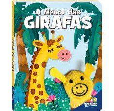 Livros Infantis - Dedinhos Agitados:Menor das Girafas, A