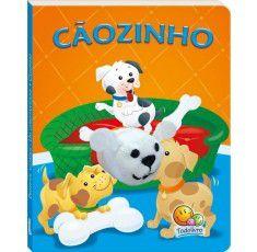 Livros Infantis Dedinhos Agitados - Fantoche: Cãozinho