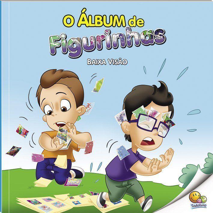 Inclusão Social: Álbum De Figurinhas (baixa Visao)