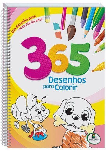 365 DESENHOS PARA COLORIR ROSA - ESPIRAL