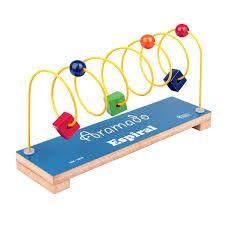 Brinquedo Educativo Aramado Espiral Colorido