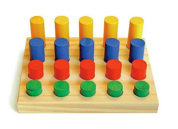 Jogo de Pinos (1 base - 20 pinos)