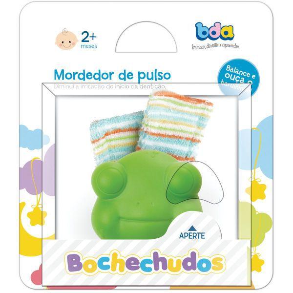 MORDEDOR INFANTIL BOCHECHUDOS C/CHOCALHO DE PULS