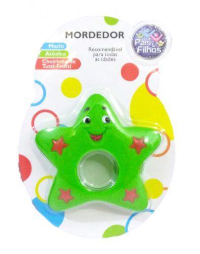Mordedor Infantil Astros - Estrela Verde- Pais E Filhos