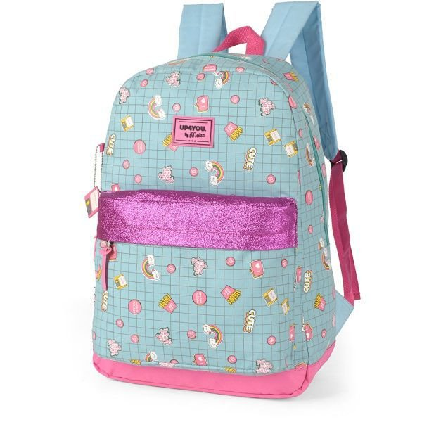Mochila Escolar UP4YOU BY MAISA GD 1Bolso VERD