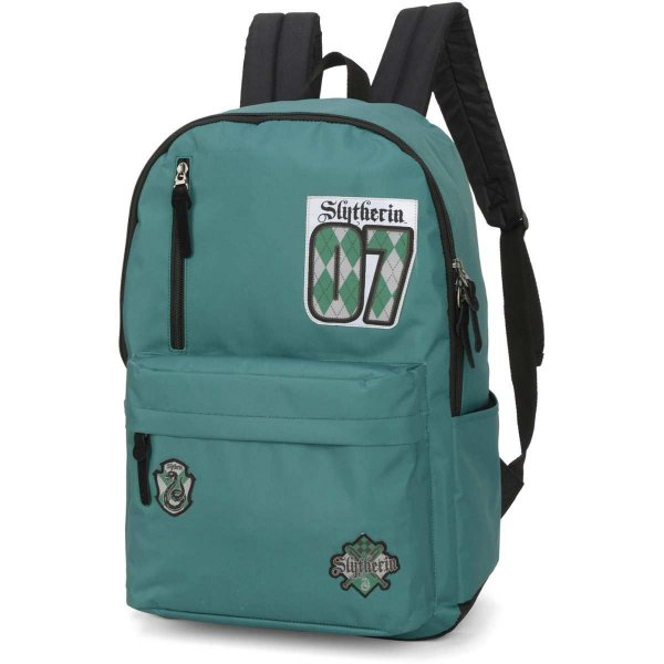 Mochila Escolar HARRY POTTER GD 2Bolsos Verde