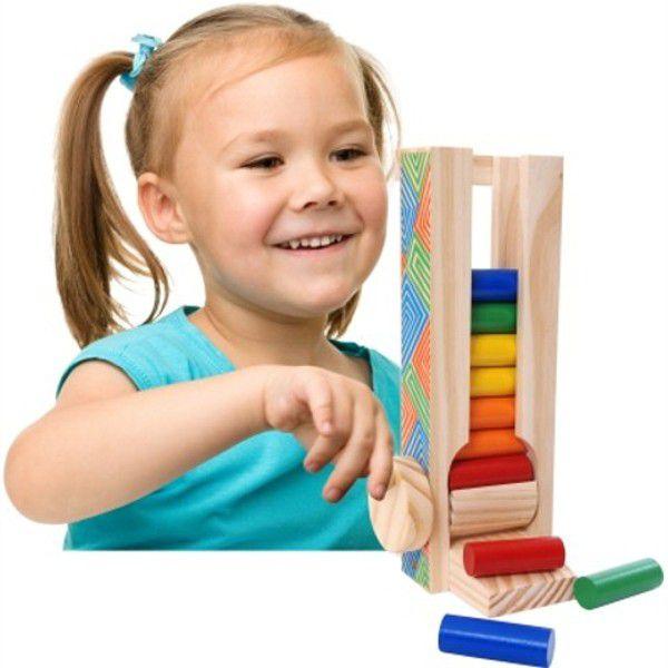 Brinquedo Pedagógico Manivela Maluca