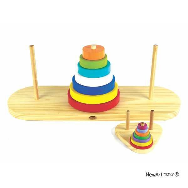 Torre de Hanói Gigante - Material Pedagógico
