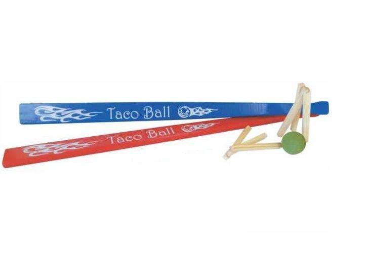 Jogo de Taco de madeira Bets Tacoball Colorido NewArt