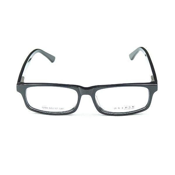 Armação para óculos de grau em Acetato Lensk 5204 Preto