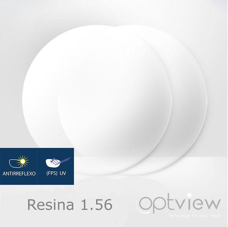 Lentes Optview - Resina Acrílica + Anti-reflexo