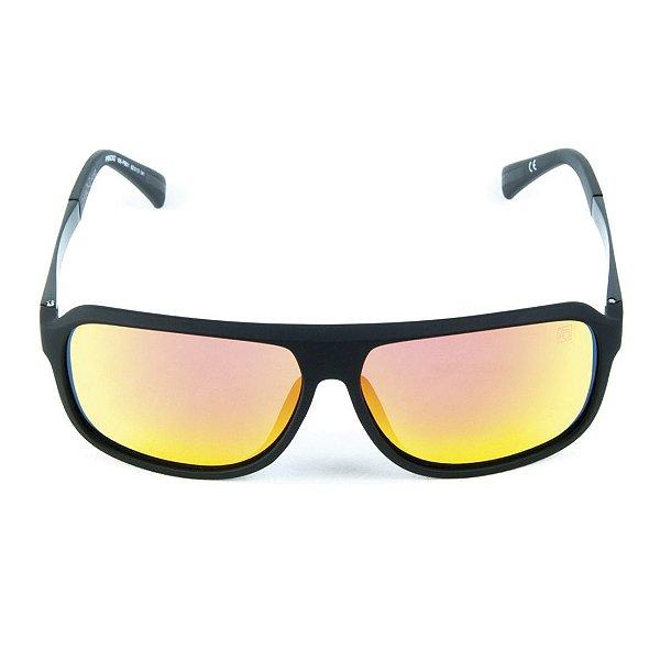 Óculos de Sol Polarizado Espellhado Zabô Lyon lente Laranja