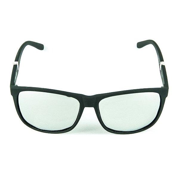 Óculos de Sol Polarizado Espelhado Zabô Berlin Preto
